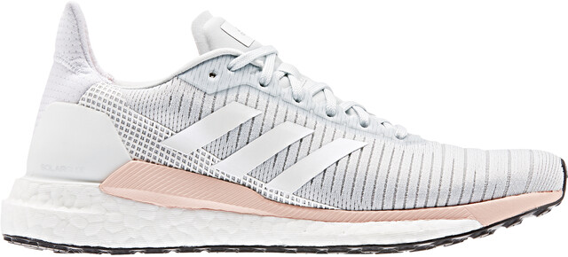 adidas Solar Glide 19 Low Cut Shoes Women blue tintfootwear whiteglossy pink